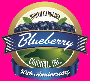 North Carolina Blueberry Council Anniversary Logo
