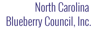 NORTH CAROLINA BLUEBERRY COUNCIL, INC.
